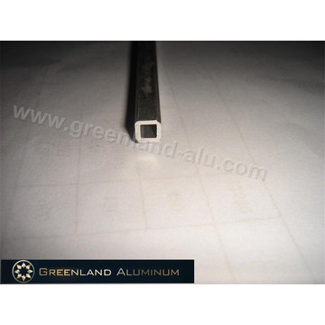 Aluminium Profile Tilt Rod for Vertical Blind Anodised Silver Hollow Square Style