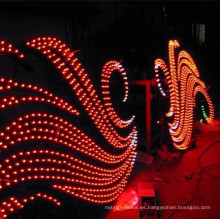 Luz de píxel LED de un solo color para letras de canal