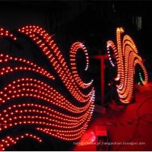 Luz de pixel LED de cor única para letras de canal
