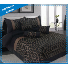 3 Stück Polyester Jacquard Bettbezug Set