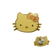 Kitty Cat Shaped Handbag Accessories Metal Bag Lock