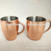 Custom color changing Moscow mule copper mug for sale