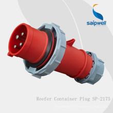 Accessoires électriques pour prises de conteneurs réfrigérés Saipwell IP67 / 32A / 4P / 3H
