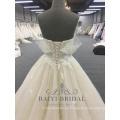 Arabische Prinzessin Luxus Edle Ballkleid Ärmelloses Brautkleid Brautkleid 2018