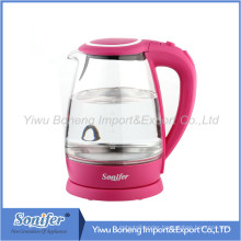 Glass Electric Kettle Sf-2005 1.8 L Stainless Steel Electric Water Kettle