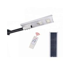 Poste de luz LED solar com controle remoto