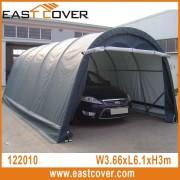 12'x20'x10' Round Roof W3.66xL6.1xH3.0m UV-resistant waterproof portable garage, carport ,canopy