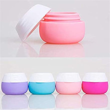 Silicone Cream Jars for Toiletries Travel Containers Sets