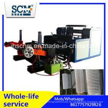 Papierschneid- und Rückspulmaschine