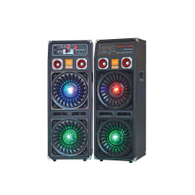 Double 10′′ Professional Stage Speaker with Light F623