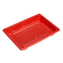 Red Sushi Tray, Customized Sizes and Designs are Accepted