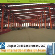 Hangar de grande structure en acier de haute qualité