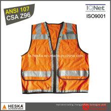 ANSI107 Mens Protect Wear High Visability Vest
