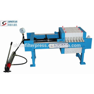 High Quality Manual Chamber Filter Press Good For Water Treatment Filter Press