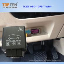 2g, detección del combustible de la ayuda del perseguidor de 3G OBD GPS, código de error leído Tk228-Ez
