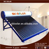 solar hot water: Non-Pressure Solar Water Heater with copper coil(SKI-NT)