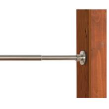 Крытый / открытый нержавеющая сталь щеткой никель натяжной стержень