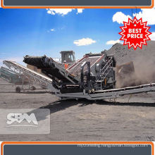 Efficient mobile crusher jaw for Kenya