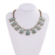 Wholesale Necklace Costume Jewelry Women Acrylic Necklace Imitation Jewelry