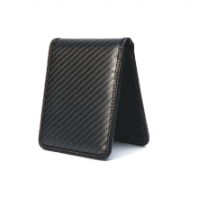 Renewable Design for Carbon Fiber Handbag New Year Gifts Carbon Fiber RFID Wallet supply to Italy Wholesale