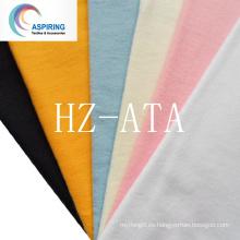 C100 20 * 12 40 * 42 Tejido de algodón teñido cepillado Tela a doble cara de la franela del color al por mayor