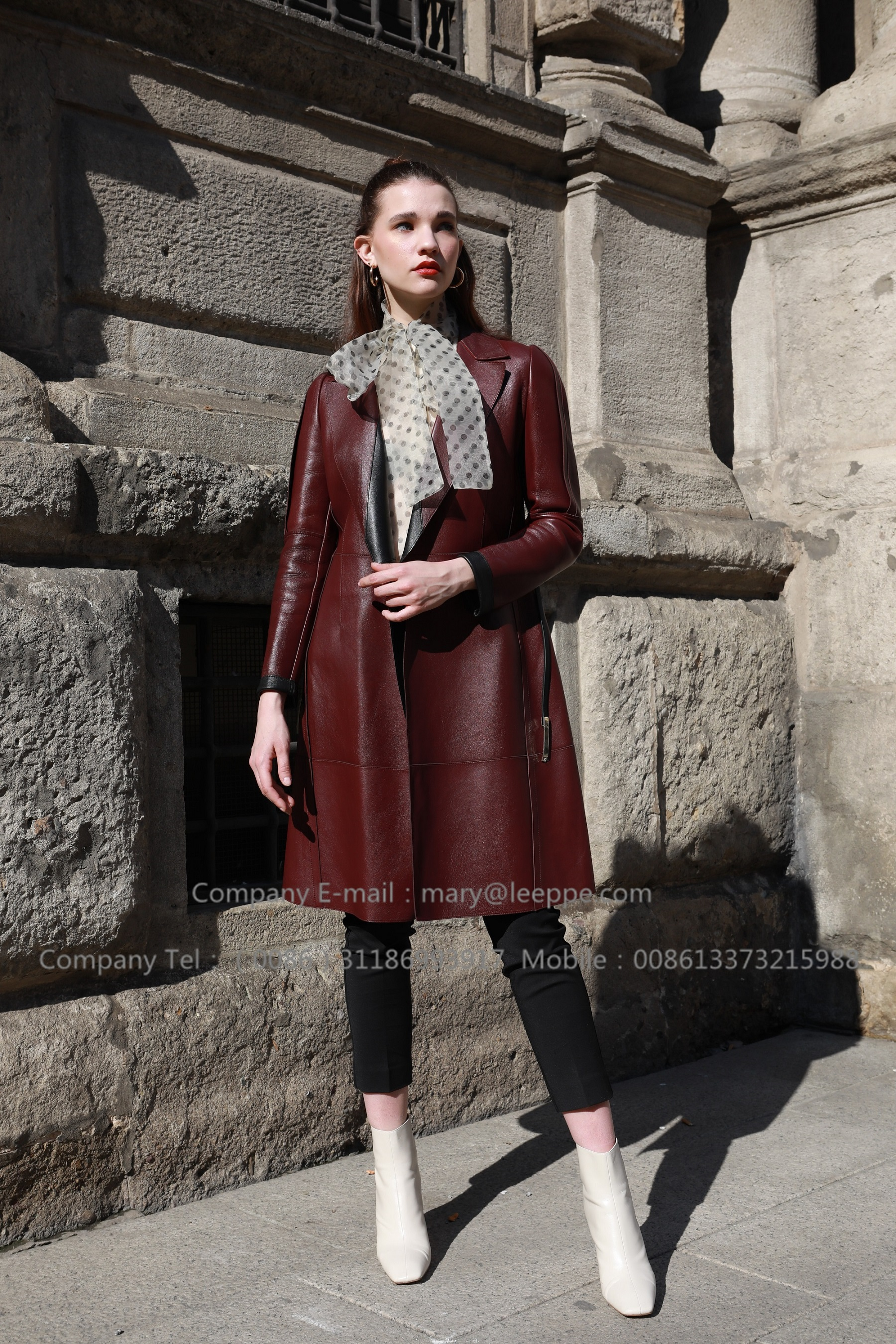 Laether Coat