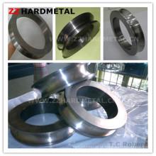 Anéis de rolamento de carboneto de tungstênio para alumínio