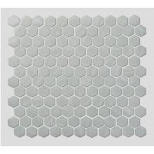 Weiße Glasmosaikfliesen für moderne minimalistische Küche