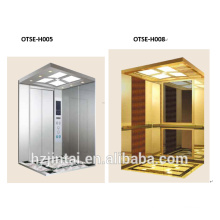 CE approved easy install Brand gearless traction machine passenger elevator