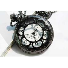 Gets.com cadena de hierro q & q reloj de acero inoxidable
