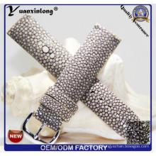 Correa de reloj de alta calidad YXL-756 Mantarraya genuina piel cuero