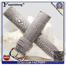 Yxl-756 High Quality Genuine Stingray Skin Leather Watch Strap