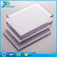 Preço barato promoção personalizada chapa prismática de policarbonato plástico de 10 mm