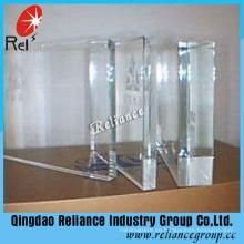 3mm-19mm Temperable Ultra Extral klar Floatglas