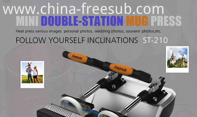 Sublimation Plastic Mugs Heat Press Printing Machine