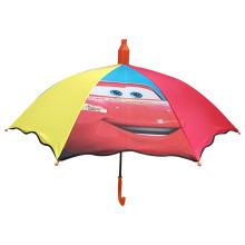 Nouveau design parapluie arc-en-ciel parapluies coupe-vent