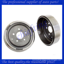 211609615 609210007 2116096151 back brake drums for volkswagen transporter