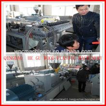 CE certification wpc pvc door window machinery