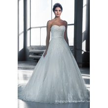 Top Sale Long Train A-Line Wedding Gown