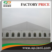 guangzhou white wedding tent for sale for overing 500 people 25x30m