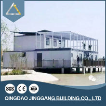 Movable living tiny prefabricated container house with CE certification