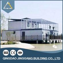 Edifício de construção de aço pré-fabricado certificada CE