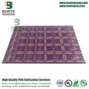 Kalın Altın 4 Katmanlar Çok Katmanlı PCB Yüksek TG ENIG