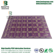 Spessore Gold 4 Layers multilayer PCB High TG ENIG