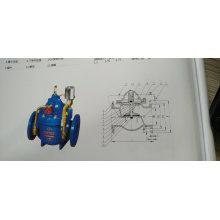 Hydraulic electric control valve sk 600X