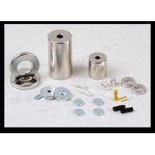 Qualitativ hochwertige Zink Überzug Neodym / NdFeB Magnet Motor