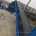 Ds 6 meters 8 meters belt conveyor movable belt conveyor for block machine