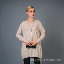 Lady′s Fashion Cashmere Sweater 17brpv014