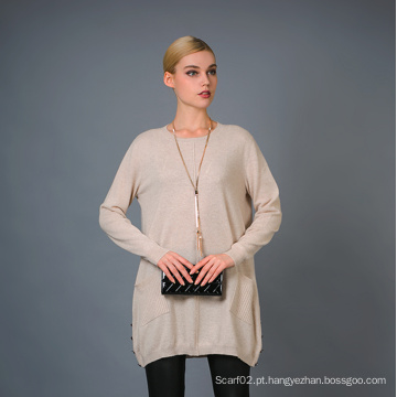 Lady's Fashion Cashmere Sweater 17brpv014