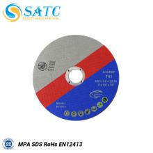 China fornecedor 115 mm disco de corte com alta eficiência para Metal